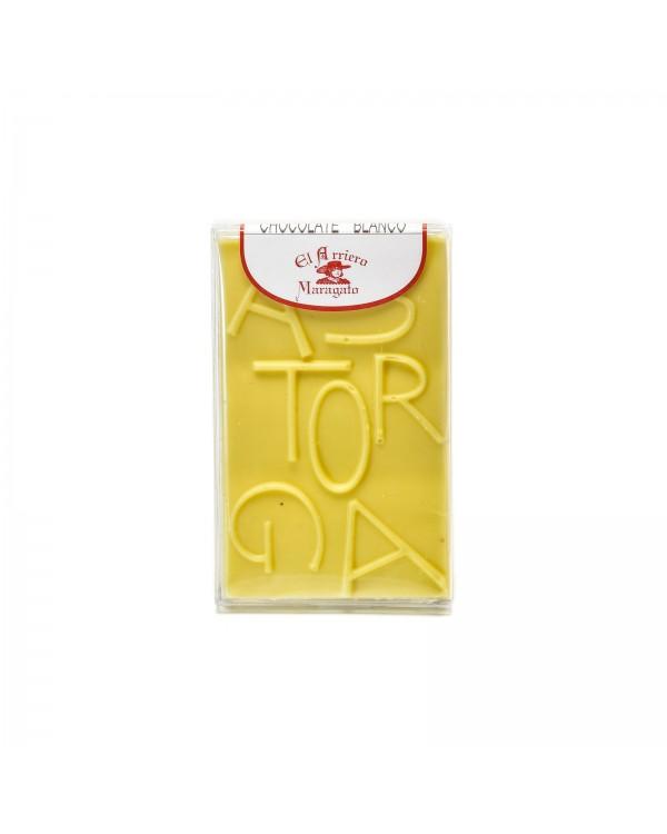 Tableta chocolate blanco 80 gramos