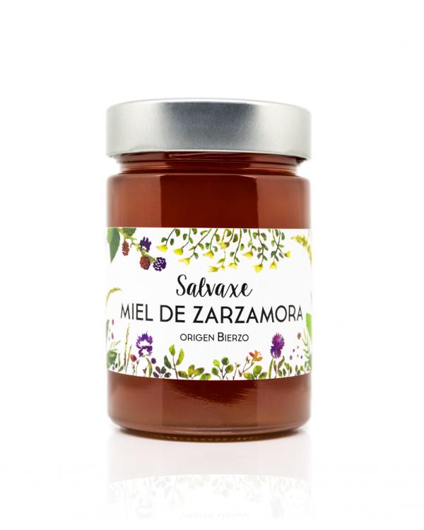 Tarro de Miel ecológica de Zarzamora...